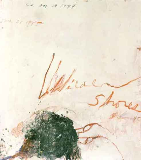"Cy Twombly: ""Wilder Shores of Love"""
